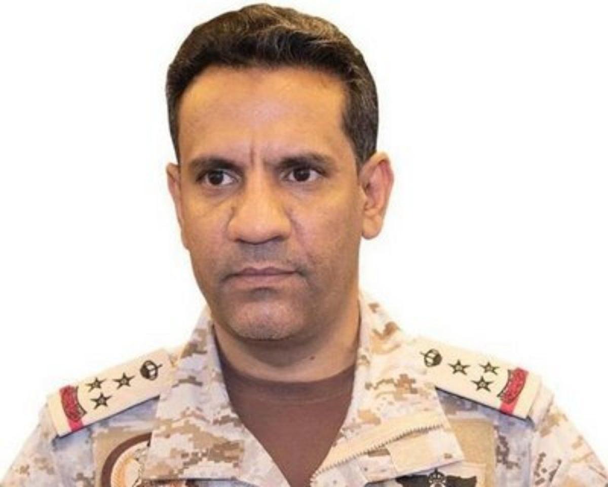 """التحالف: تدمير """"مسيرة"""" مفخخة أطلقتها الميليشيا الحوثية تجاه خميس"""