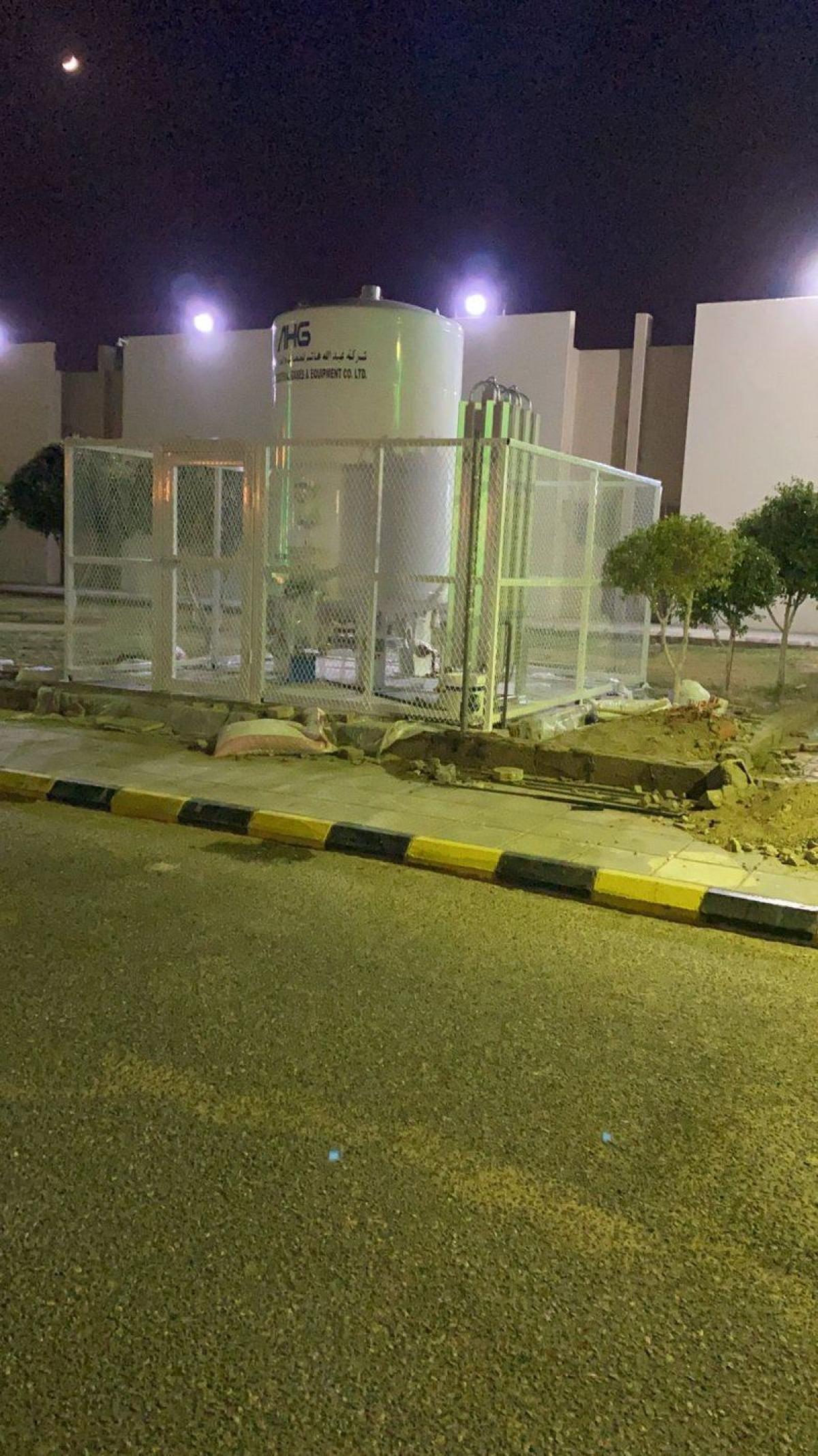 """""""صحة الطائف"""" تدعم مستشفياتها بخزانات أكسجين احتياطية"""