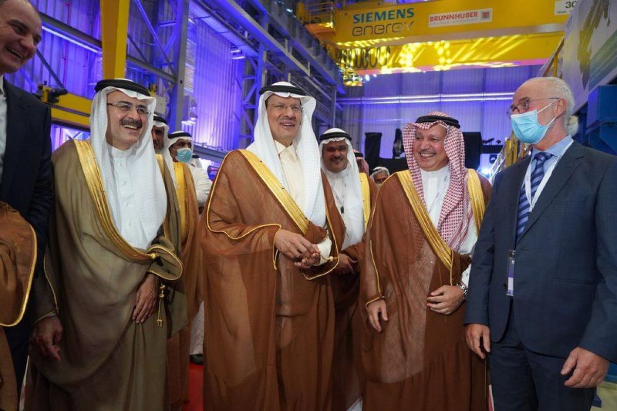 مجموعة الجفالي تشكر وزير الطاقة لرعايته حفل إطلاق شركة سيمنس توسع